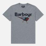Мужская футболка Barbour Pheasant Grey Marl фото- 0