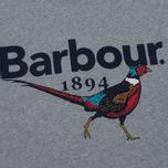 Мужская футболка Barbour Pheasant Grey Marl фото- 2