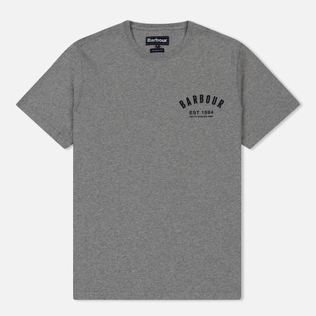 Мужская футболка Barbour Preppy Grey Marl
