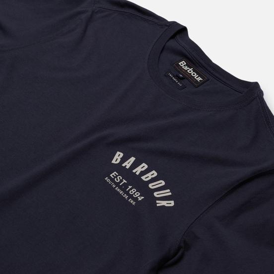 Мужская футболка Barbour Preppy New Navy