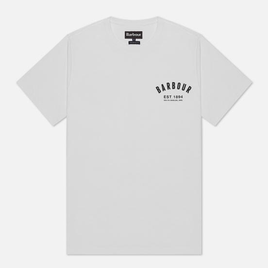 Мужская футболка Barbour Preppy White