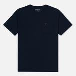 Мужская футболка Barbour Preston Pocket Navy фото- 0