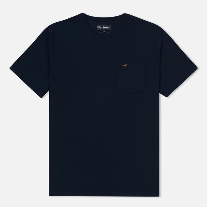 Мужская футболка Barbour Preston Pocket Navy