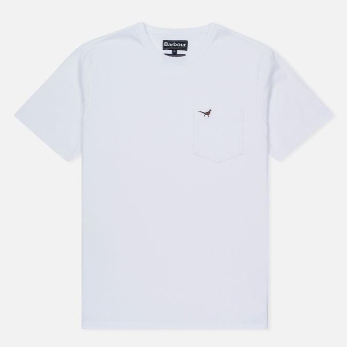 Мужская футболка Barbour Preston Pocket White