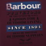 Barbour Purveyor Men's T-shirt Merlot photo- 2