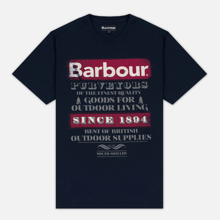 Barbour Purveyor Men's T-shirt Navy