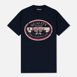 Мужская футболка Barbour Quality Navy фото- 0