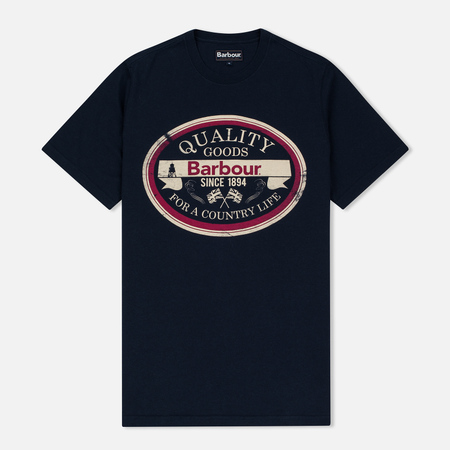 Barbour Quality Men's T-shirt Navy