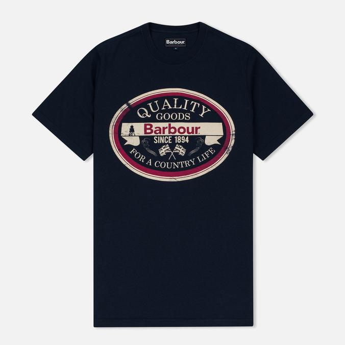 Мужская футболка Barbour Quality Navy