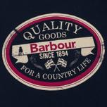 Мужская футболка Barbour Quality Navy фото- 2