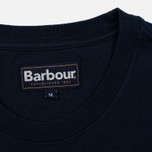 Мужская футболка Barbour Quality Navy фото- 3