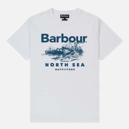 Мужская футболка Barbour Rudd White