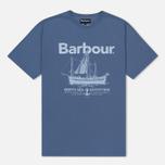 Мужская футболка Barbour Sailboat Admiral Blue фото- 0