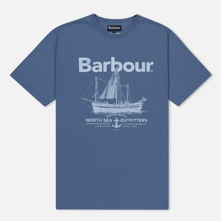 Мужская футболка Barbour Sailboat Admiral Blue