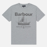 Мужская футболка Barbour Sailboat Light Grey Marl фото- 0