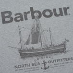 Мужская футболка Barbour Sailboat Light Grey Marl фото- 2