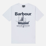 Мужская футболка Barbour Sailboat White фото- 0