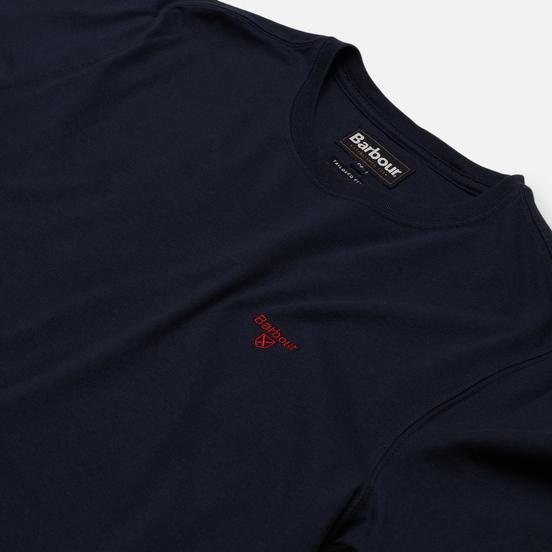 Мужская футболка Barbour Sports Navy