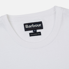 Мужская футболка Barbour Sports White фото- 1