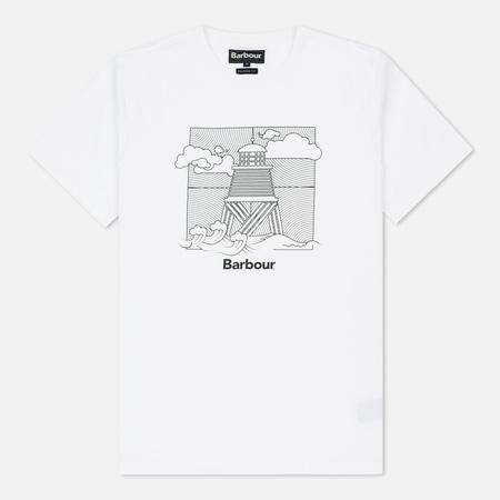Мужская футболка Barbour Storm White