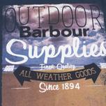 Мужская футболка Barbour Supply Navy фото- 2