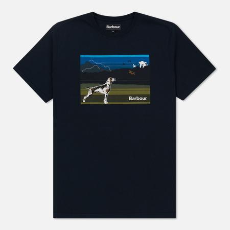 Мужская футболка Barbour Walk Navy