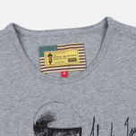 Barbour x Steve McQueen International Breakout Men's T-shirt Grey Marl photo- 1