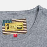 Barbour x Steve McQueen International Breakout Men's T-shirt Grey Marl photo- 3
