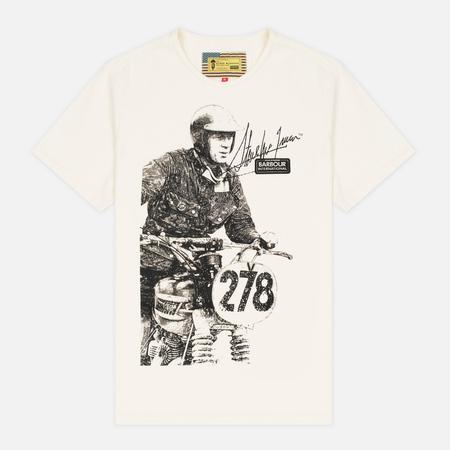 Barbour x Steve McQueen International Breakout Men's T-shirt Neutral