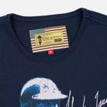 Мужская футболка Barbour x Steve McQueen International Breakout New Navy фото- 1