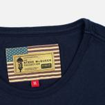 Мужская футболка Barbour x Steve McQueen International Breakout New Navy фото- 3