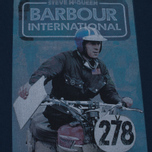 Мужская футболка Barbour x Steve McQueen International Control Navy фото- 2