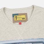 Мужская футболка Barbour x Steve McQueen International Control Neutral Marl фото- 1