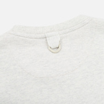Barbour x White Mountaineering Komi Men's T-shirt Ecru Marl photo- 3