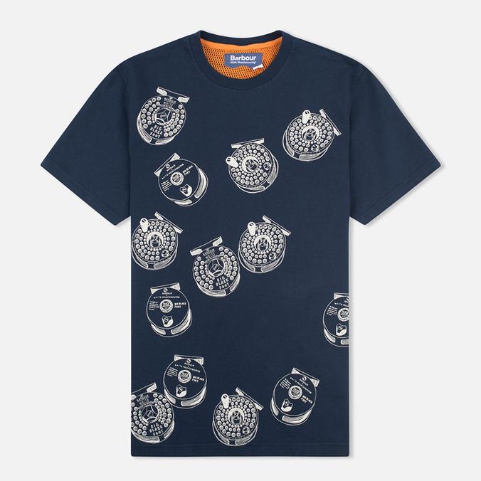 Мужская футболка Barbour x White Mountaineering Komi Navy