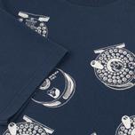 Barbour x White Mountaineering Komi Men's T-shirt Navy photo- 4