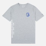 Мужская футболка Billionaire Boys Club Alliance Grey Heather фото- 0
