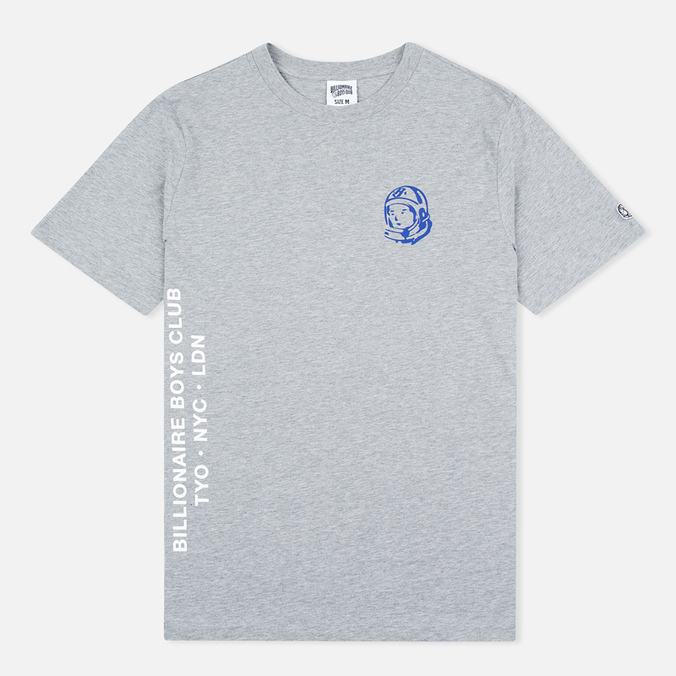 Мужская футболка Billionaire Boys Club Alliance Grey Heather