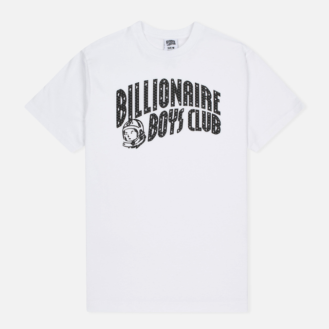 Мужская футболка Billionaire Boys Club Arch Logo Reflective Ski-Grid White