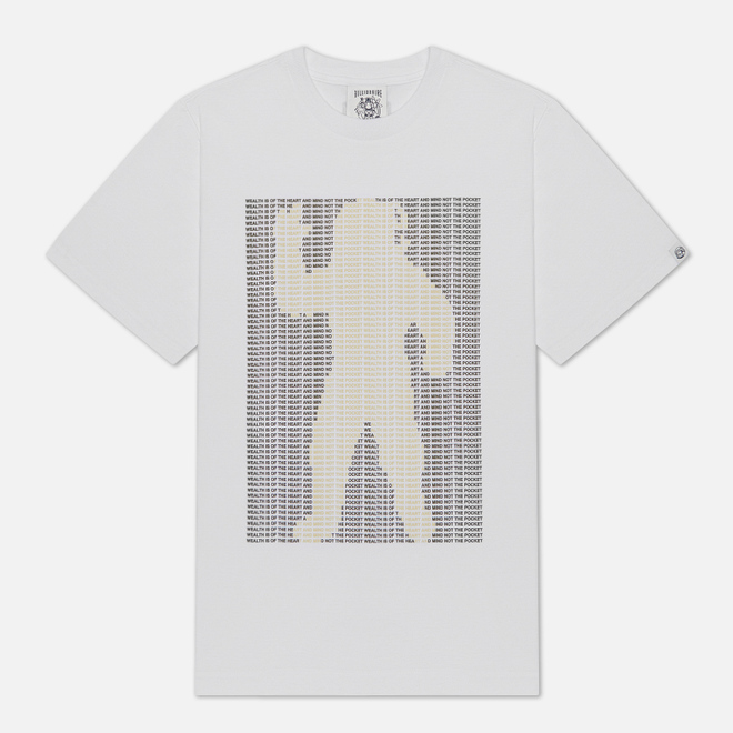 Мужская футболка Billionaire Boys Club Astro Mantra White