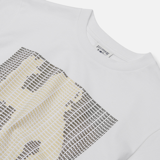 Мужская футболка Billionaire Boys Club Astro Mantra White