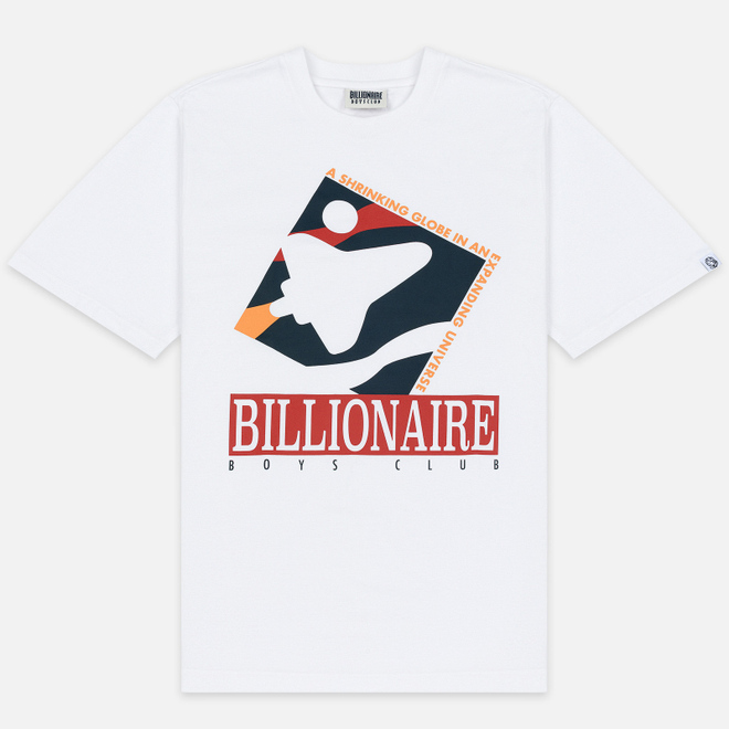 Мужская футболка Billionaire Boys Club Commemorative Mission White