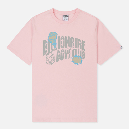 Мужская футболка Billionaire Boys Club Damaged Logo Pink