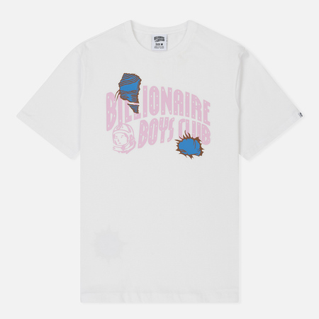 Мужская футболка Billionaire Boys Club Damaged Logo White
