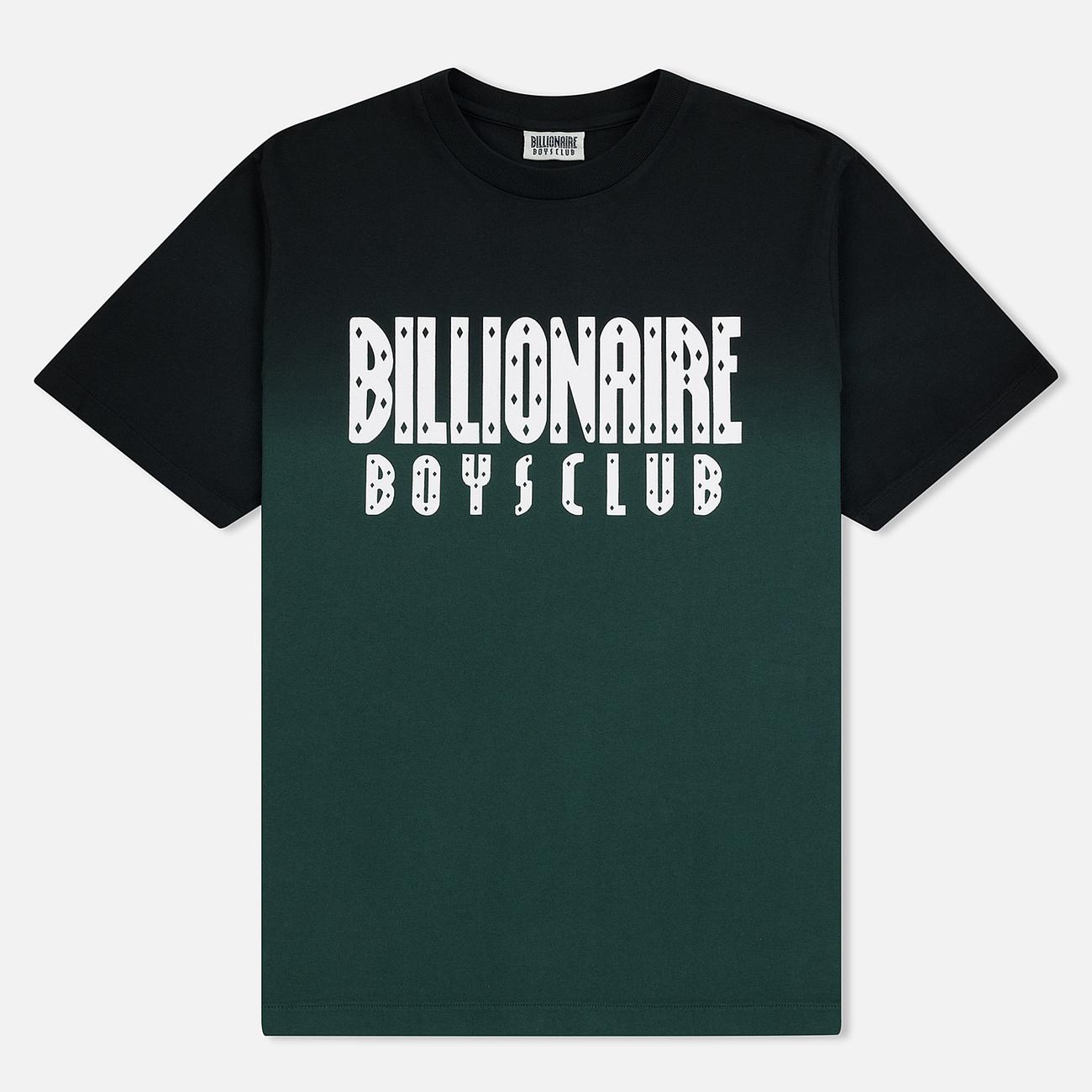 Мужская футболка Billionaire Boys Club Dip Dye Straight Logo Green