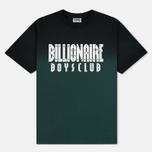 Мужская футболка Billionaire Boys Club Dip Dye Straight Logo Green фото- 0