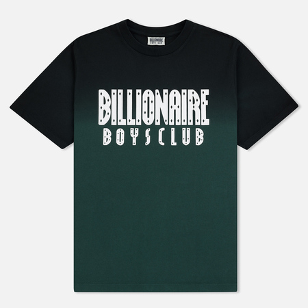 Мужская футболка Billionaire Boys Club Dip Dye Straight Logo Green