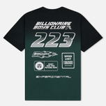 Мужская футболка Billionaire Boys Club Dip Dye Straight Logo Green фото- 1