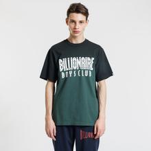Мужская футболка Billionaire Boys Club Dip Dye Straight Logo Green фото- 2