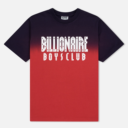 Мужская футболка Billionaire Boys Club Dip Dye Straight Logo Red